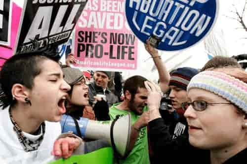 Abortion Clinics Protest Abuse