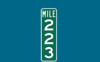 Mile Marker 223 – South of Birmingham